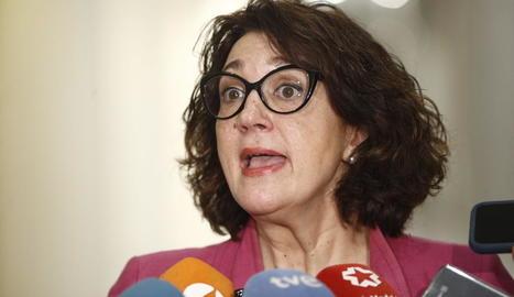 Soraya Rodríguez.