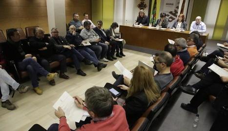 Imatge del ple del consell del Segrià del passat 1 de febrer.