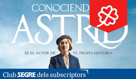 El cartell de la pel·lícula 'Conociendo a Astrid' protagonitzada per Alba August.