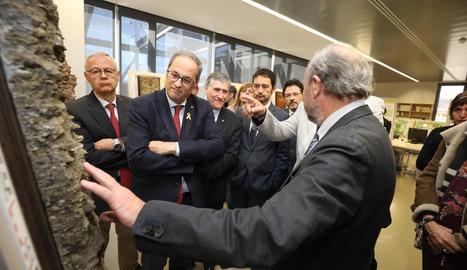 Torra dóna suport a Jordi Sànchez com a candidat de JxCat al Congrés