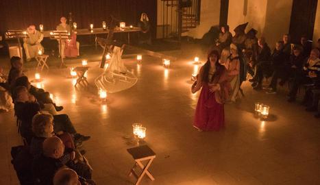 'Les veus silents' de la Passió Medieval de Cervera a la Universitat.