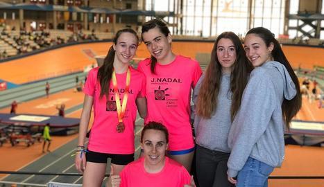 L'atleta Aida Alemany aconsegueix el bronze en el Campionat d'Espanya de 1.500 m/ll