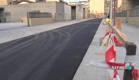 Mollerussa substituirà 9 metres de claveguera al carrer de Girona després de detectar-ne el mal estat
