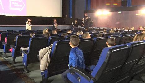 Més de 500 escolars de Tàrrega gaudeixen del cinema en el marc del Galacticurs