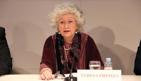 Teresa Freixes.