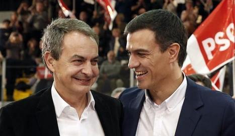 Zapatero i Sánchez, dos gotes d'aigua