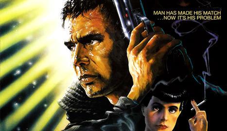 El cartell de 'Blade Runner'.