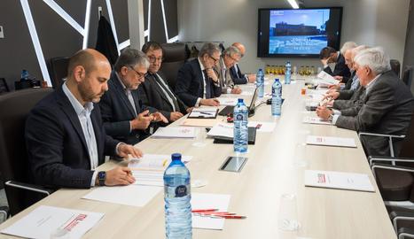 El consell d'administració de Mercolleida.