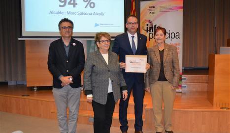 Mollerussa i Bell-lloc distingides amb el segell InfoParticipa 2018