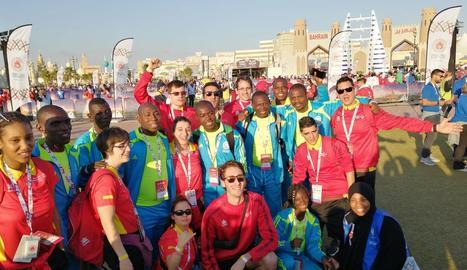 Un coordinador de l'ACUDAM participa als Special Olympic World Games