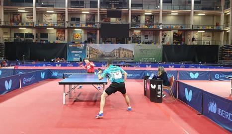 Marc Duran i Joan Masip jugaran les semifinals del campionat d'Espanya