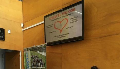 Des de l'atenció primària s'han organitzat diferents activitats per conscienciar la població en el marc de la celebració del Dia Europeu per la Prevenció del Risc Cardiovascular