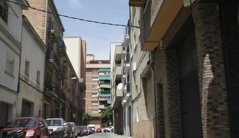 Una vista del carrer Arnald de Solsona, a Pardinyes.