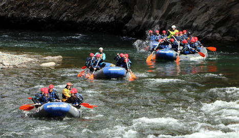 Comença la temporada dels esports d'aventura al Pallars