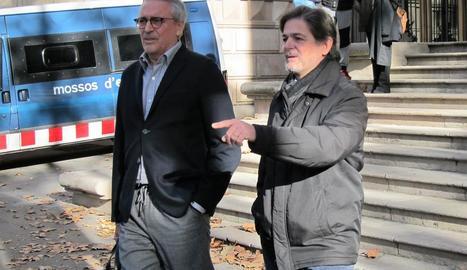 Oriol Pujol, amb el seu advocat, el mes de desembre passat.