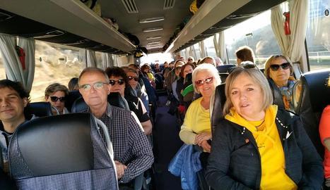 Denuncien que la Guàrdia civil reté autocars que van a la manifestació de Madrid