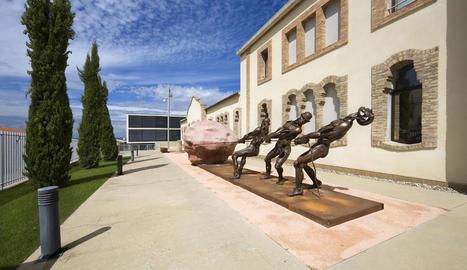 Almacelles, vila escultòrica