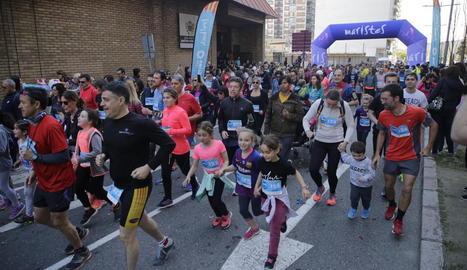 La Cursa SED va comptar amb la participació d'atletes de totes les edats.