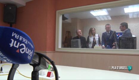 Ràdio Ponent millora les seves instal·lacions