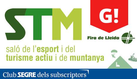 El cartell d'enguany del Saló de l'Esport i del Turisme Actiu i de Muntanya.