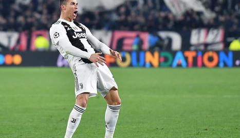 Cristiano i el seu gest obscè.