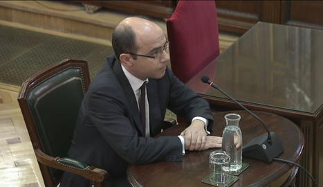 Felipe Martínez ha declarat aquest dimarts al Suprem com a testimoni en el judici del 'procés'.