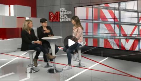 Rut Camí entrevista a la presidenta i a la secretaria d'Esport Femení