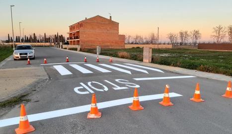 El Palau instal·la vuit ressalts en diferents carrers del municipi