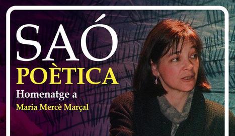 Homenatge a Maria Mercè Marçal al segon Saó Poètica de Mollerussa