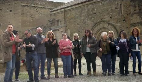 El vídeo és va enregistrar al Turó de Gardeny i a la Mariola.