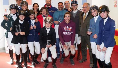Doble victòria d'Albert Hermoso en un concurs a Segòvia