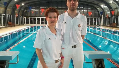Àrbitres lleidatans de natació artística