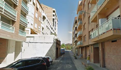 Imatge del carrer del Bruc de Lleida