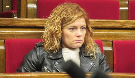 Elisenda Alamany es presentarà a les municipals de Barcelona.