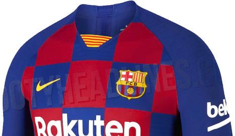 La nova samarreta del Barça combinarà quadres de blau i grana