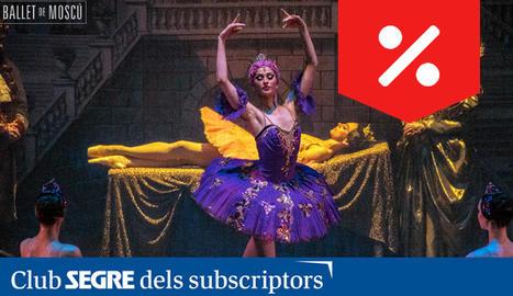 Una de les escenes d'aquest ballet clàssic de Txaikovski, interpretat pel Ballet de Moscou.