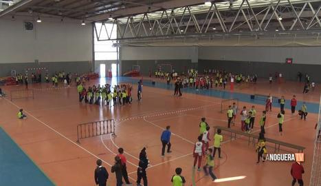 Alumnes de Balaguer participen a la Fira de Jocs al Pati