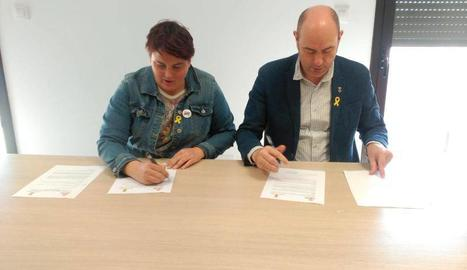 Signen un conveni de suport i assessorament pel patrimoni d'Os de Balaguer