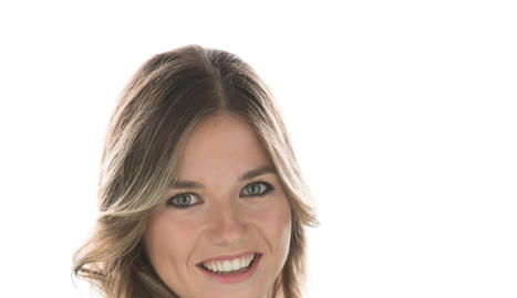 La presentadora del programa especial, Rut Camí.
