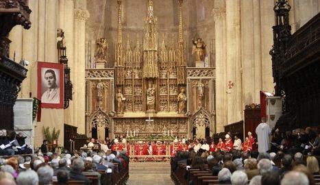 Primera beatificació de la Catedral de Tarragona.
