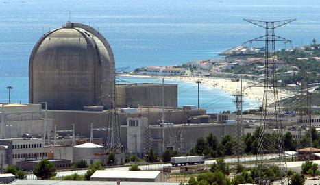 Imatge de la central nuclear de Vandellòs II.