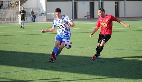 El Tamarit va buscar el gol des de l'inici però va ser incapaç de materialitzar cap de les seues ocasions.