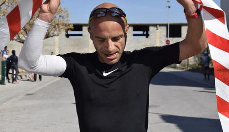 Elisa Trepat va ser la més ràpida a la distància llarga.