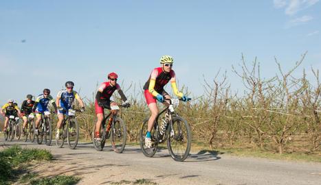 La primera edició de la Montmaneu 494 va superar els 200 participants a la línia de sortida.