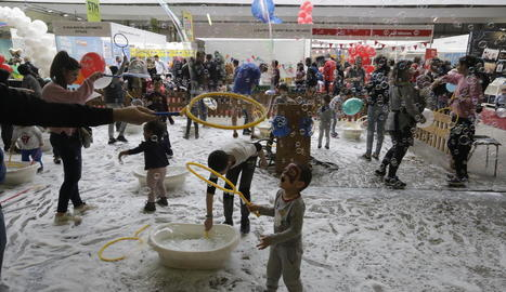 Els nens van gaudir de moltes activitats.