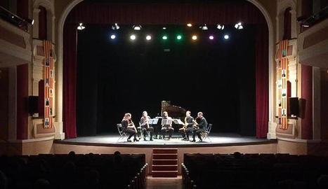 'Bellpuig Ressona' amb melodies de saxòfons