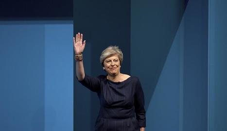 Imatge d'arxiu de la primera ministra britànica, Theresa May.