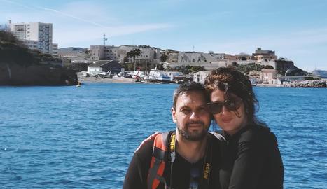 La guanyadora i el seu marit, Juanma, són aficionats a la fotografia.