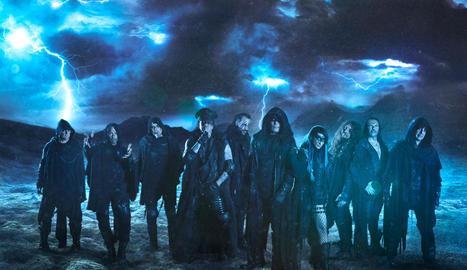 Una de les imatges promocionals del nou àlbum de la banda Mägo de Oz, 'Ira Dei'.