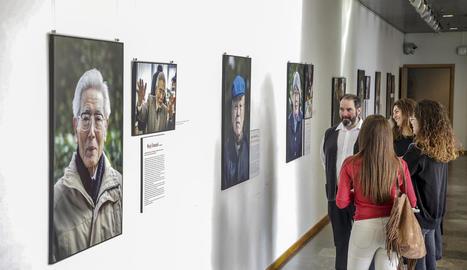 Imatges a la Universitat de Lleida sobre Hiroshima i Nagasaki, avui